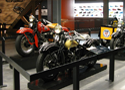 artifact mounts, exhibit consulting, Harley Davidson Museum